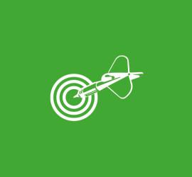 Zielscheibe Symbol